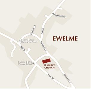 Map of Ewelme